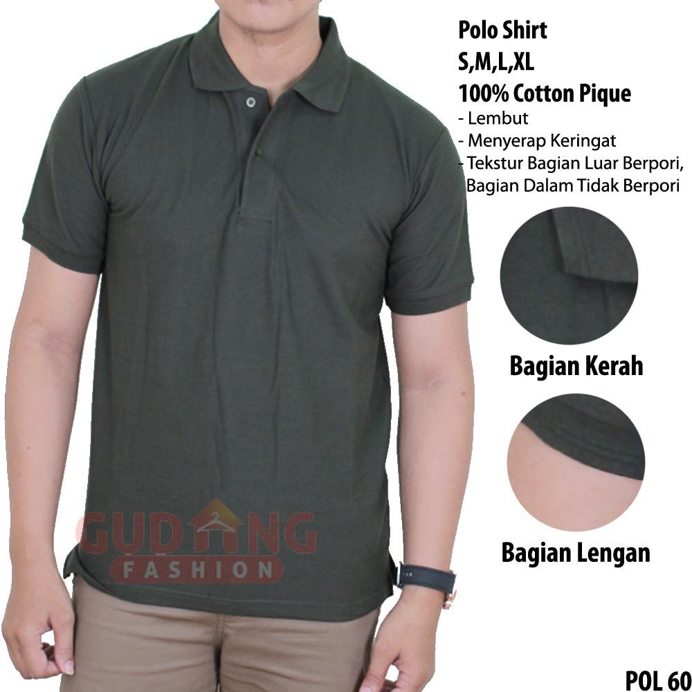 Kaos Tactical Army Adem Lembut Nyaman Cotton Tebal Militer TNI Polisi KTC0102DD Awet Berkualitas   Shopee Indonesia