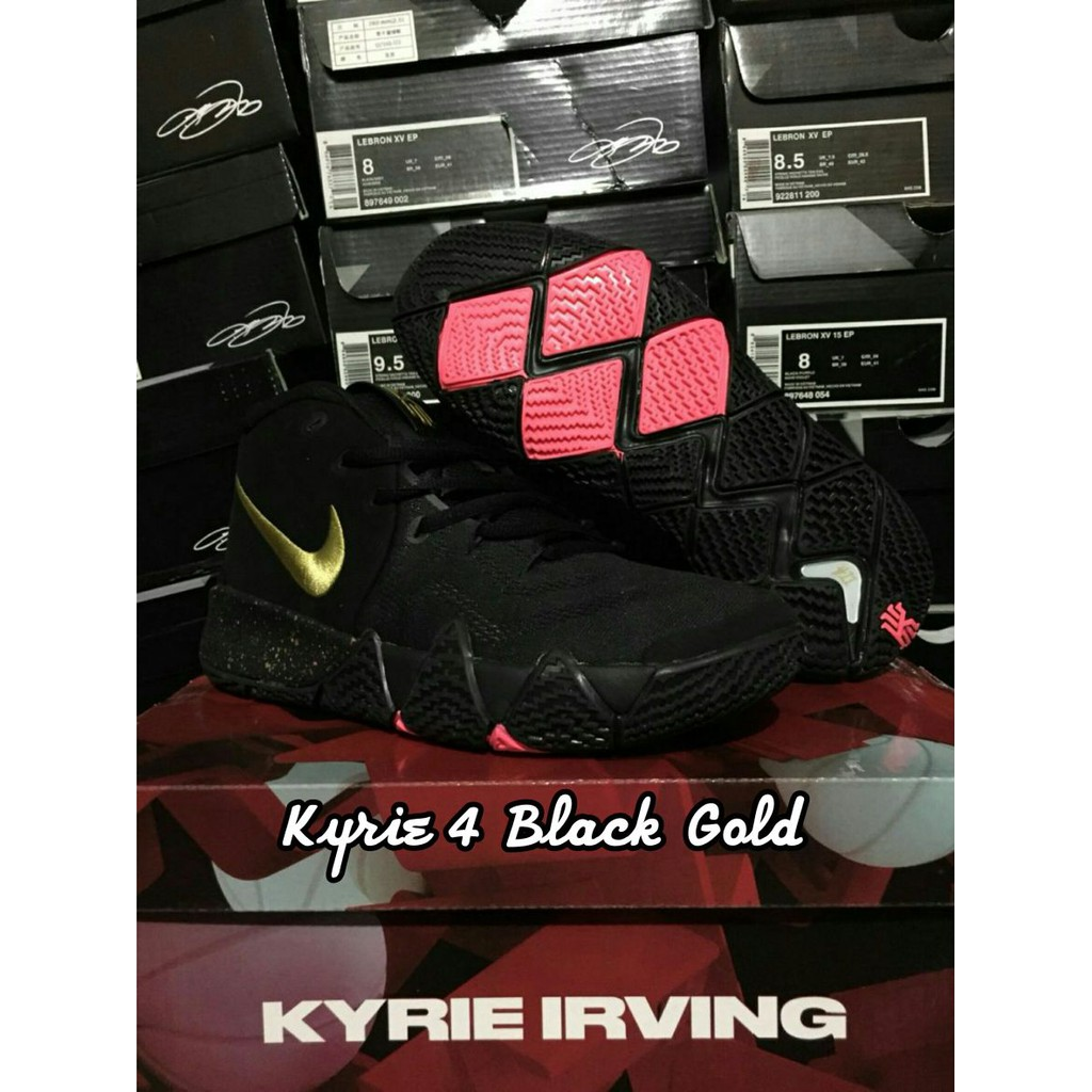 c61ff56b9e4 sepatu basket nike kyrie 3 black yellow