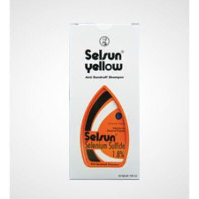 SELSUN Shampoo Conditioner Series / Sampo Anti Ketombe Blue 5 Yellow Gold 7 Herbal Flowers-SELS Yellow SS 60ml