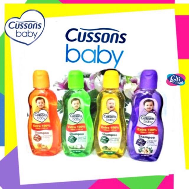 ORIGINAL Cussons Baby Shampoo 100ml+100 ml & 50ml+50ml / Cusson Shampoo Bayi / LEDI MART-5