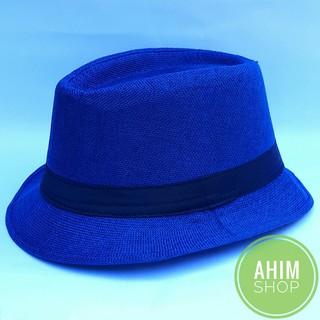 TOPI JAZZ ANTI KUSUT Pria Wanita Tompi Fashion Fedora Panama Caplin Bowler  Hat . ed181220c9