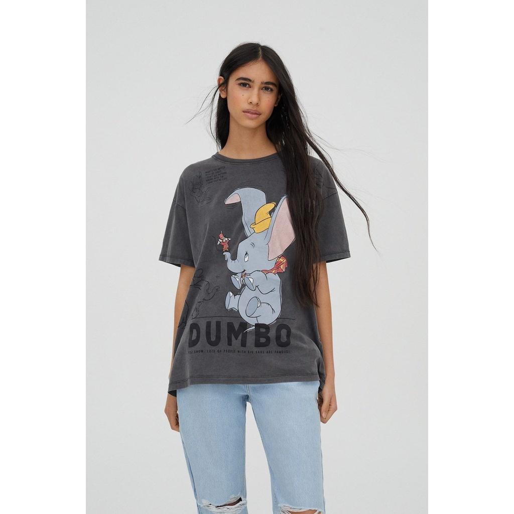 Kaos Zara / Kaos Dumbo / Tshirt Dumbo / Baju Zara Dumbo / Disney / Atasan Wanita / Kaos Disney