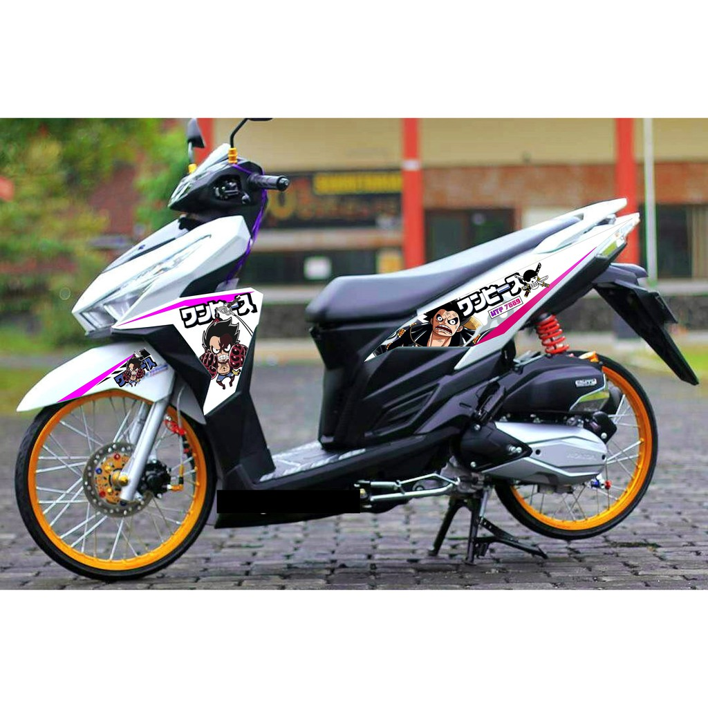 Striping sticker variasi vario 125 old click lingkar shopee indonesia