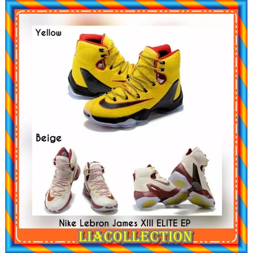 TERBARU SEPATU Basket pria Nike Lebron James Original XIII ELITE EP Original  BNIB MURAH  b6510e89f4
