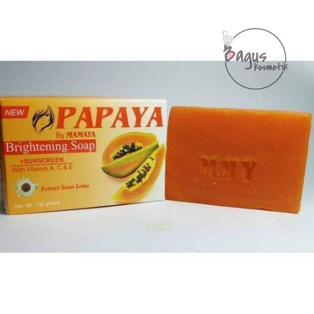 Bagus 135gr Sabun Papaya Bpom Original By Mamaya Sabun Papaya Shopee Indonesia