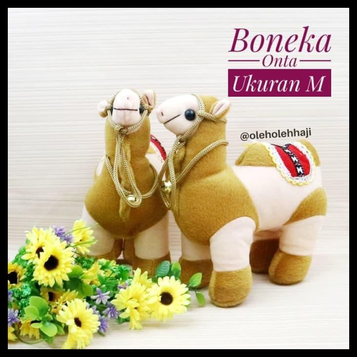 Boneka Onta Unta Camel Ukuran M Souvenir Oleh Oleh Haji Dan Umroh Nabawi  42e98848ae