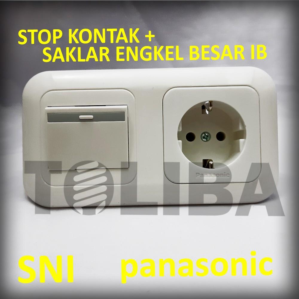 Saklar Engkel Besar Stop Kontak Stopkontak Non Cp Inbow Ib Panasonic Shopee Indonesia