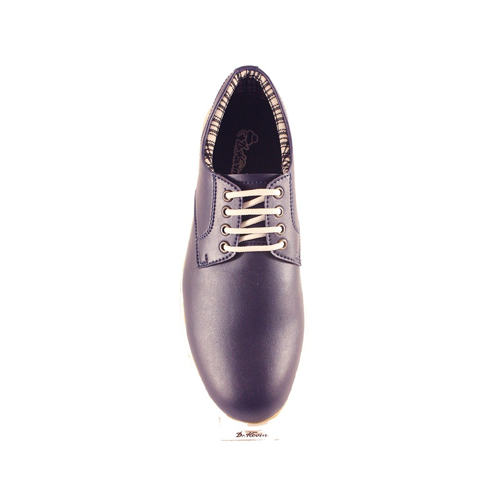 Dr Kevin Men Cassual Shoes 13346 Blue Navy Shopee Indonesia 13359 Grey Abu 39