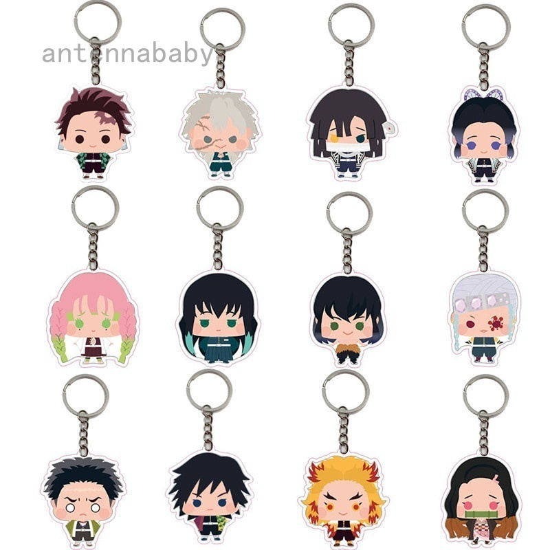 My Hero Academia Keychain PVC Figure Anime Keyring Pendant Collection Toy 6-9CM