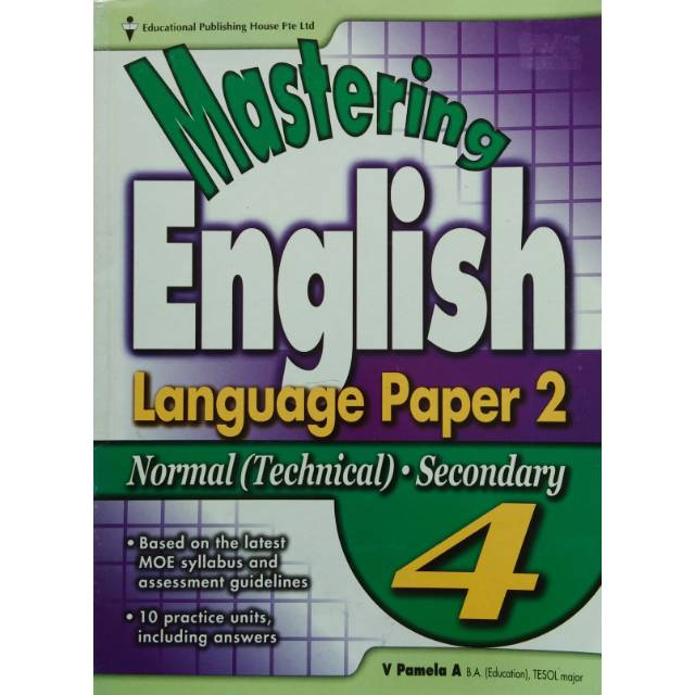 Mastering English Language Paper2 - Normal (Technical) Secondary 4