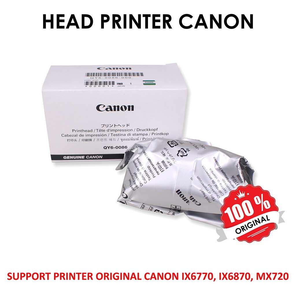 Print Head Printer Canon Ix6560 Ip4870 Mg5270 Pgi725 726 Shopee Indonesia