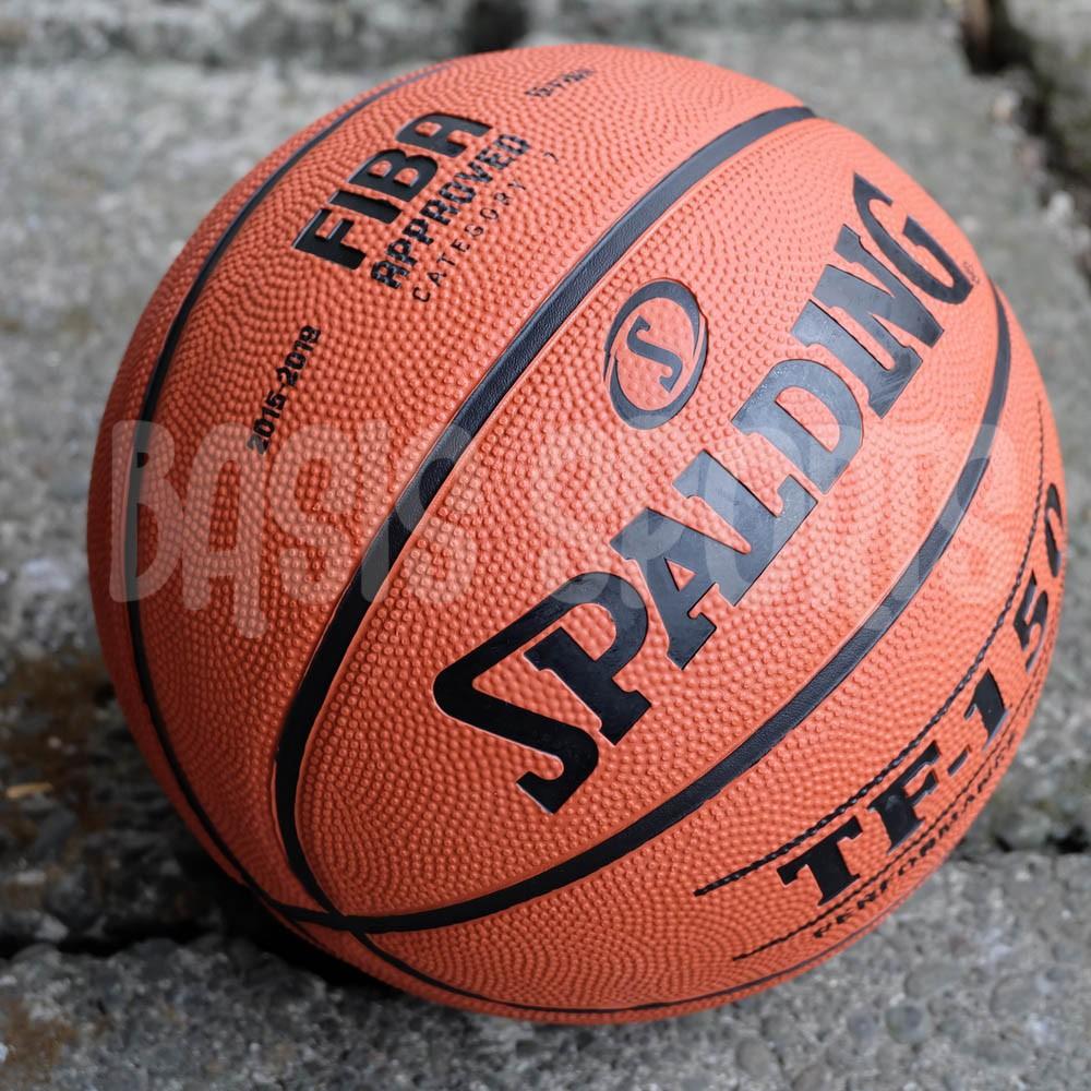 Bola Basket Spalding Tf150 Fiba Approved Shopee Indonesia Molten Mikasa Gt7
