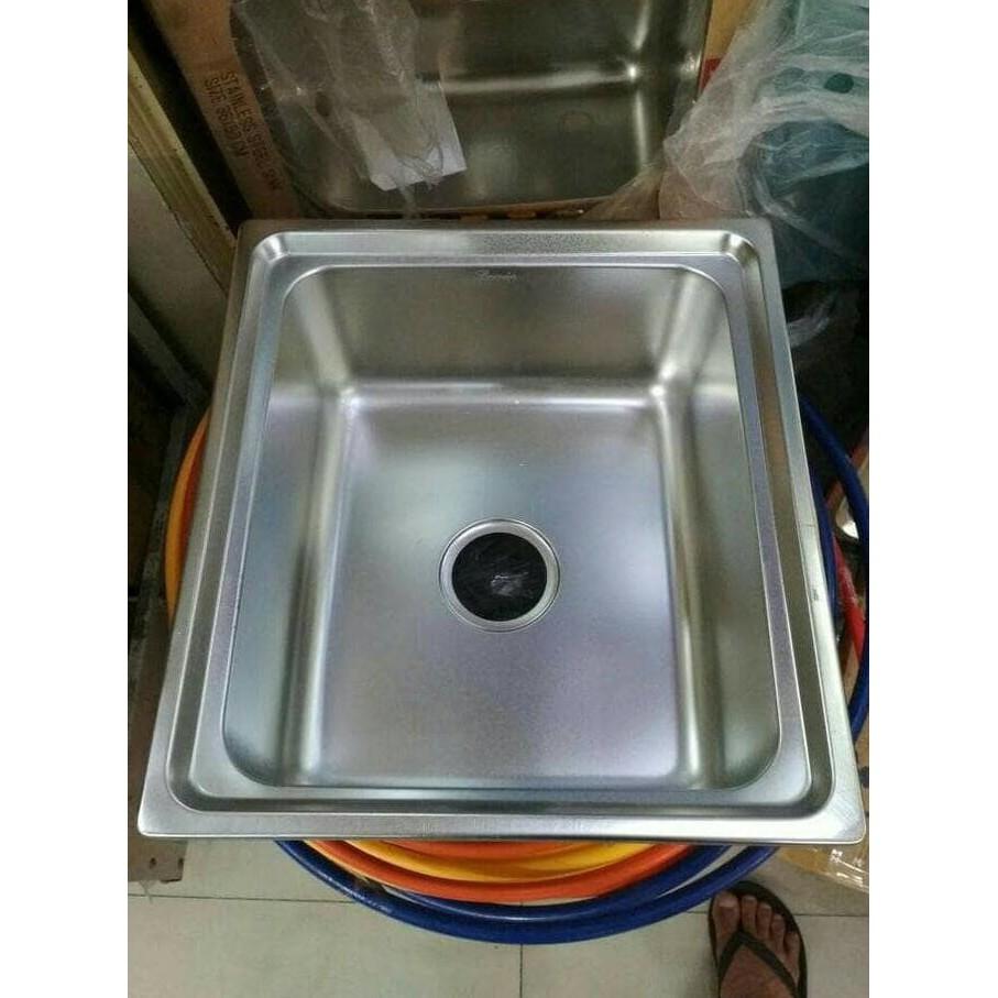 Produk dapur terbaik kitchen sink 6045 bak cuci piring stainles onan model bolzano gratis ongkir shopee indonesia