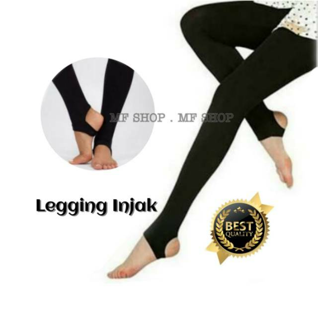 Legging Injak Korea Legging Injak Tumit Legging Import Celana Legging Wanita Legging Polos Shopee Indonesia