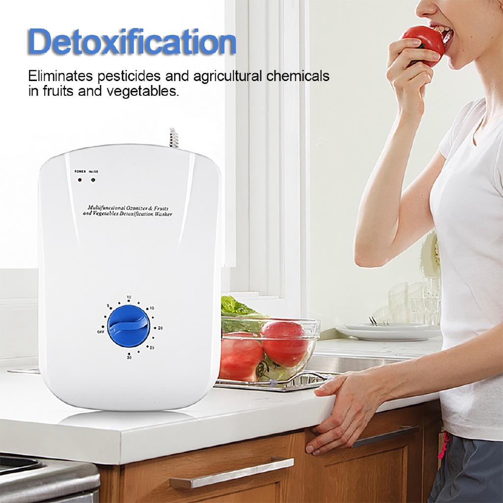 Ozone Generator Ozonator 400mg//h Air Purifier Water Food Sterilizer 220V EU Plug