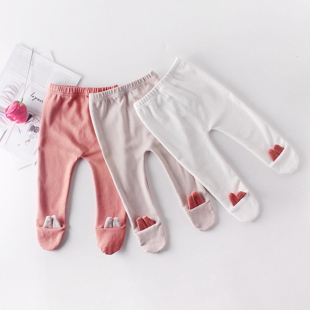Celana Legging Bayi Perempuan Katun Pola Telinga Lucu Shopee Indonesia