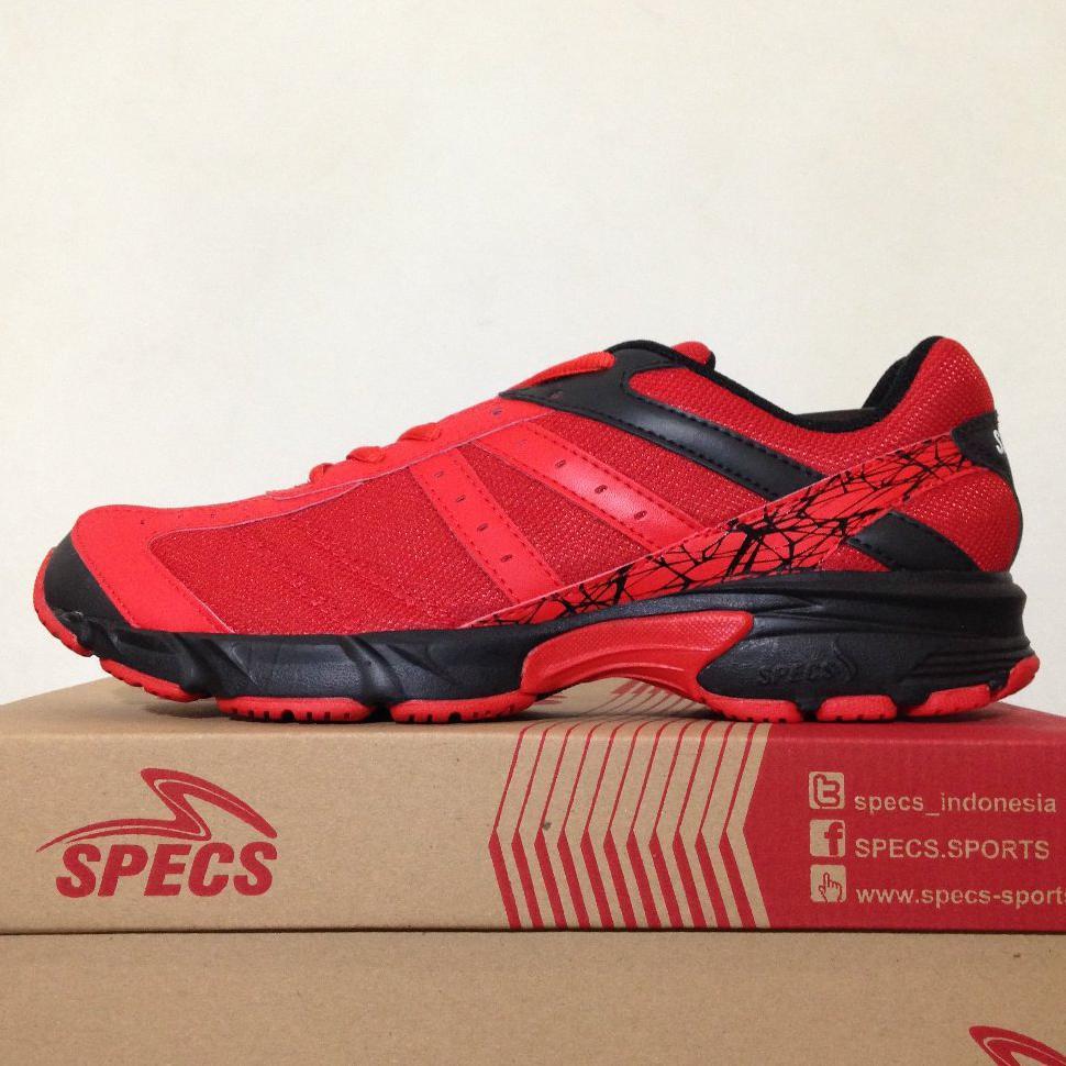 Diskon Sepatu Running/Lari Specs Vinson Massif Vision Red 200410 Original   Shopee Indonesia