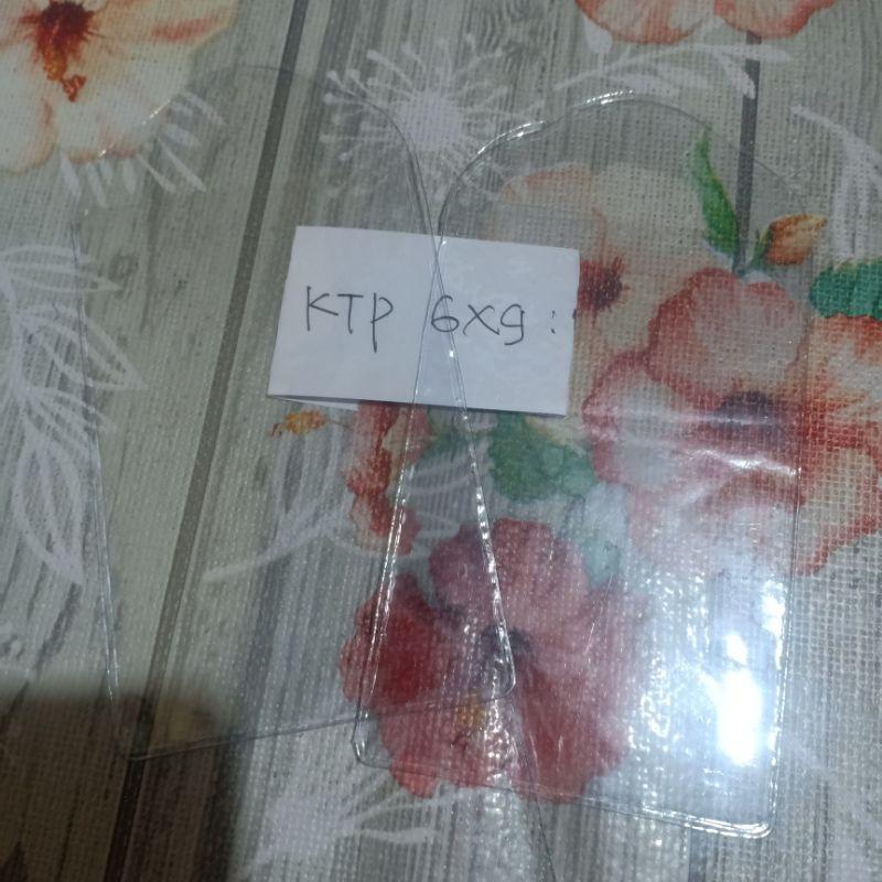 Plastik ID Card KTP 6 X 9cm / Plastik Panitia 6x9cm