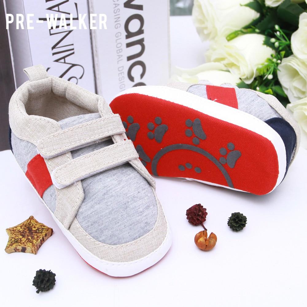 Sepatu Bayi Tamagoo Grace Series Baby Shoes Prewalker Murah Branded Perempuan Gwen Grey Prew 9 12 Bulan Shopee Indonesia