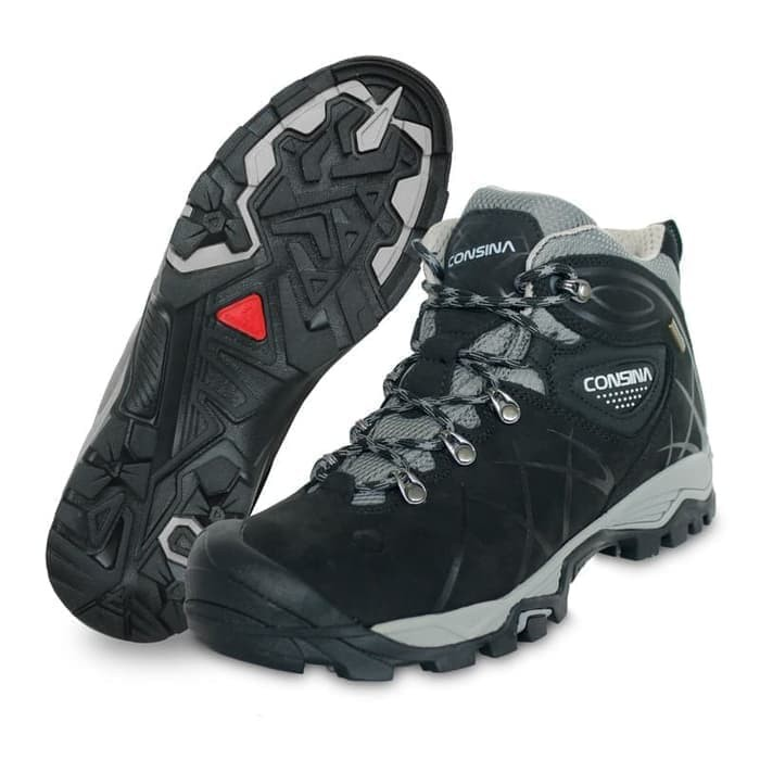 Sepatu Hiking Gunung Outdoor Snta 475 Black  aa97058816