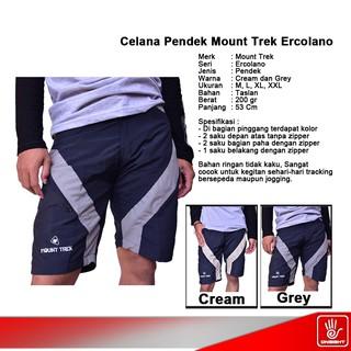 Muscle Fit Celana Pendek Pria Bermuda MCL-47 MD Grey. Source · Celana Pendek