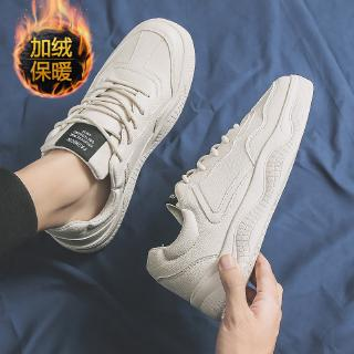 □◇2019 New Spring Men's shoes Korean version couple small Whiteboard canvas casual tide shoe net