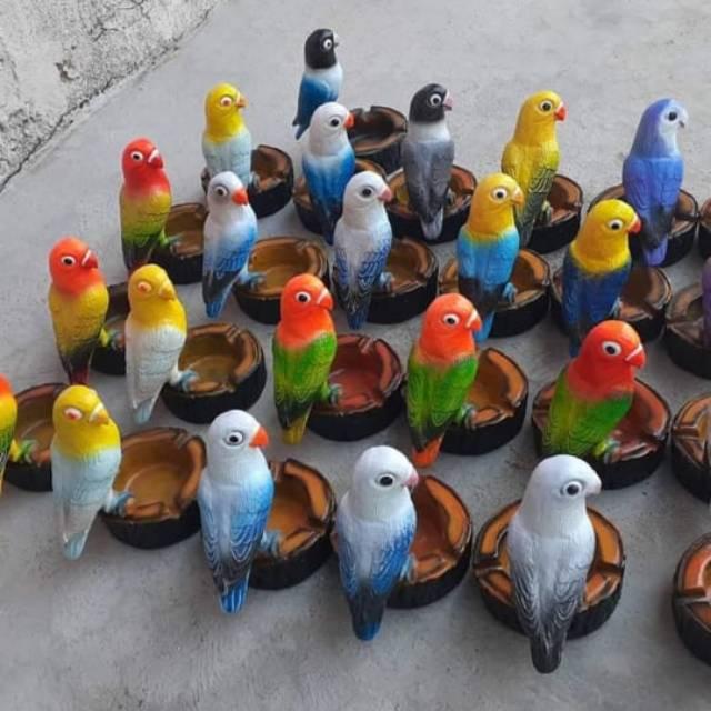 Asbak Karakter Burung Shopee Indonesia