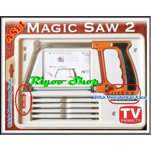Gergaji Ajaib Serbaguna Multifungsi Magic Saw Generasi 2 Kedua As Seen On Tv Memotong Kayu Bambu Ba