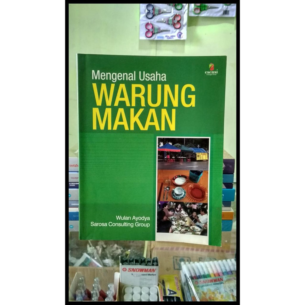 Promo Shopee Best Seller Mengenal Usaha Warung Makan Qr0459