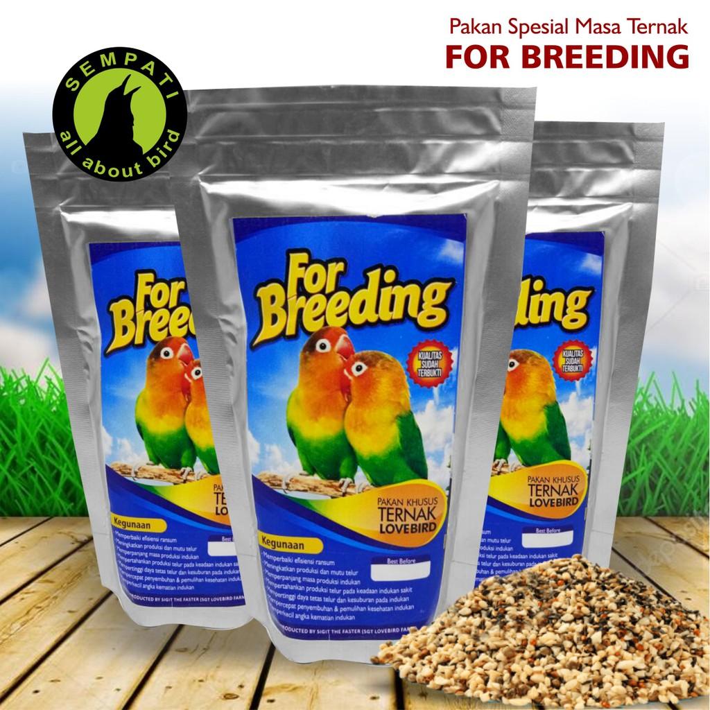 For Breeding Lovebird Pakan Khusus Ternak Burung Lovebird Shopee