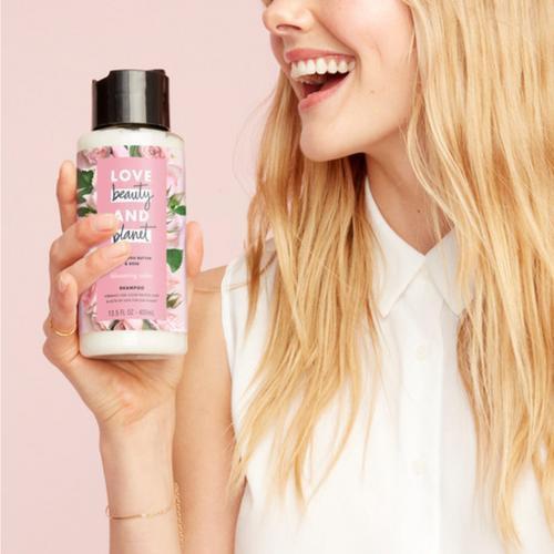 Love Beauty & Planet Shampoo Murumuru Butter & Rose 200ml-3