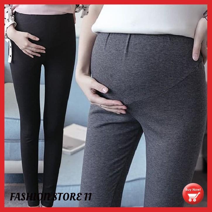 Celana Hamil Legging Hamil Wanita Leging Hamil Ibu Bumil Maternity Pants Fsl1 Shopee Indonesia