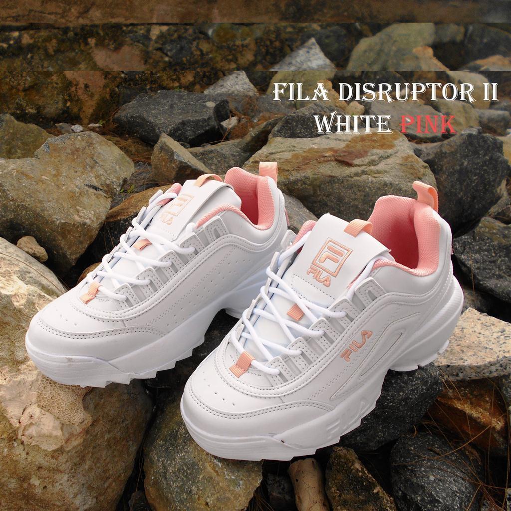 ... Fila Disruptor Gen 2 made in Korea - Sepatu Sneakers Wanita import  Kualitas Premium ... f23fdd5810