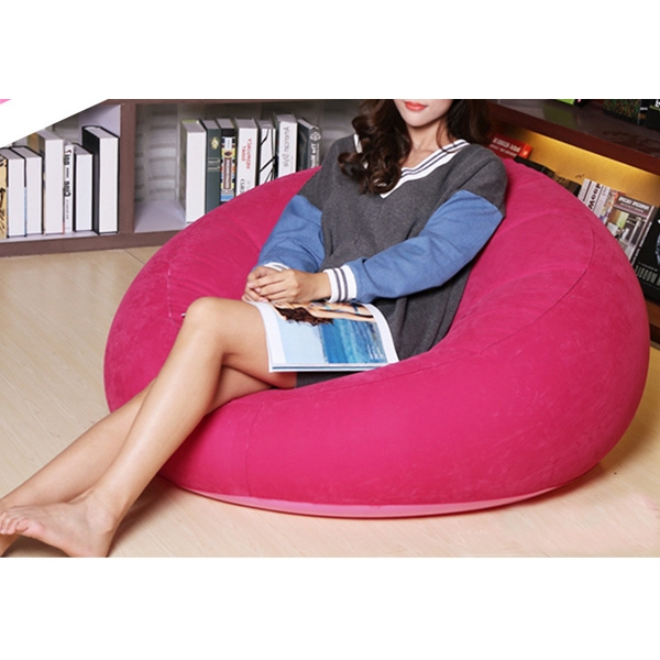 Thicken Portable Fast Inflatable Lazy Sofa Chair Sleep Bed