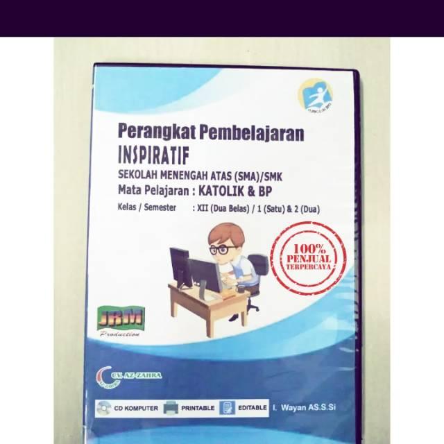 Cd Rpp K13 Versi 1 Lembar Sma Ma Mak Mapel Agama Katolik Kelas Xii 12 Edisi Revisi Terbaru Shopee Indonesia