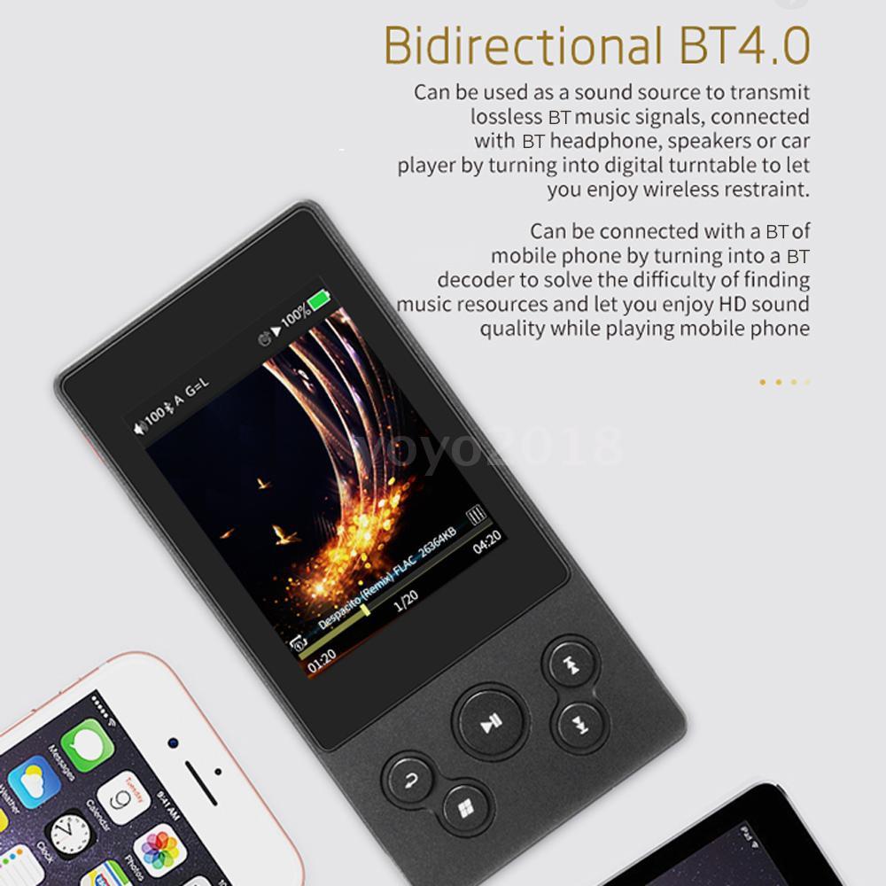 xDuoo X3II BT MP3 Player HiFi Lossless Music Audio DSD USB 256GB TF Card