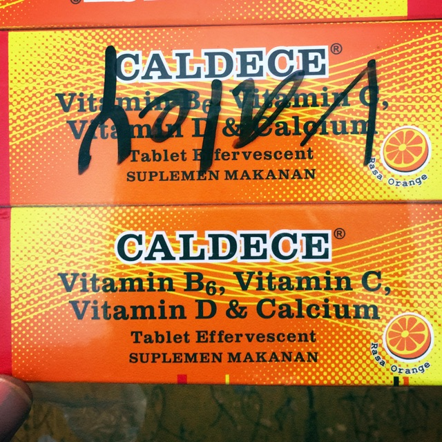 Caldece 10 Vitamin C 1000 Mg Vitamin D 300 Tablet Effervescent Setara Redoxon Lebih Bagus Dan Murah Shopee Indonesia