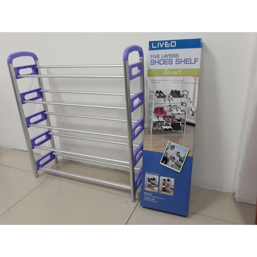 Liveo Lv398 Jemuran Dinding 4 Bars U Shape Stainless Steel Shopee Tangga Single Telescopic Ladder 38m Lv 202 Indonesia