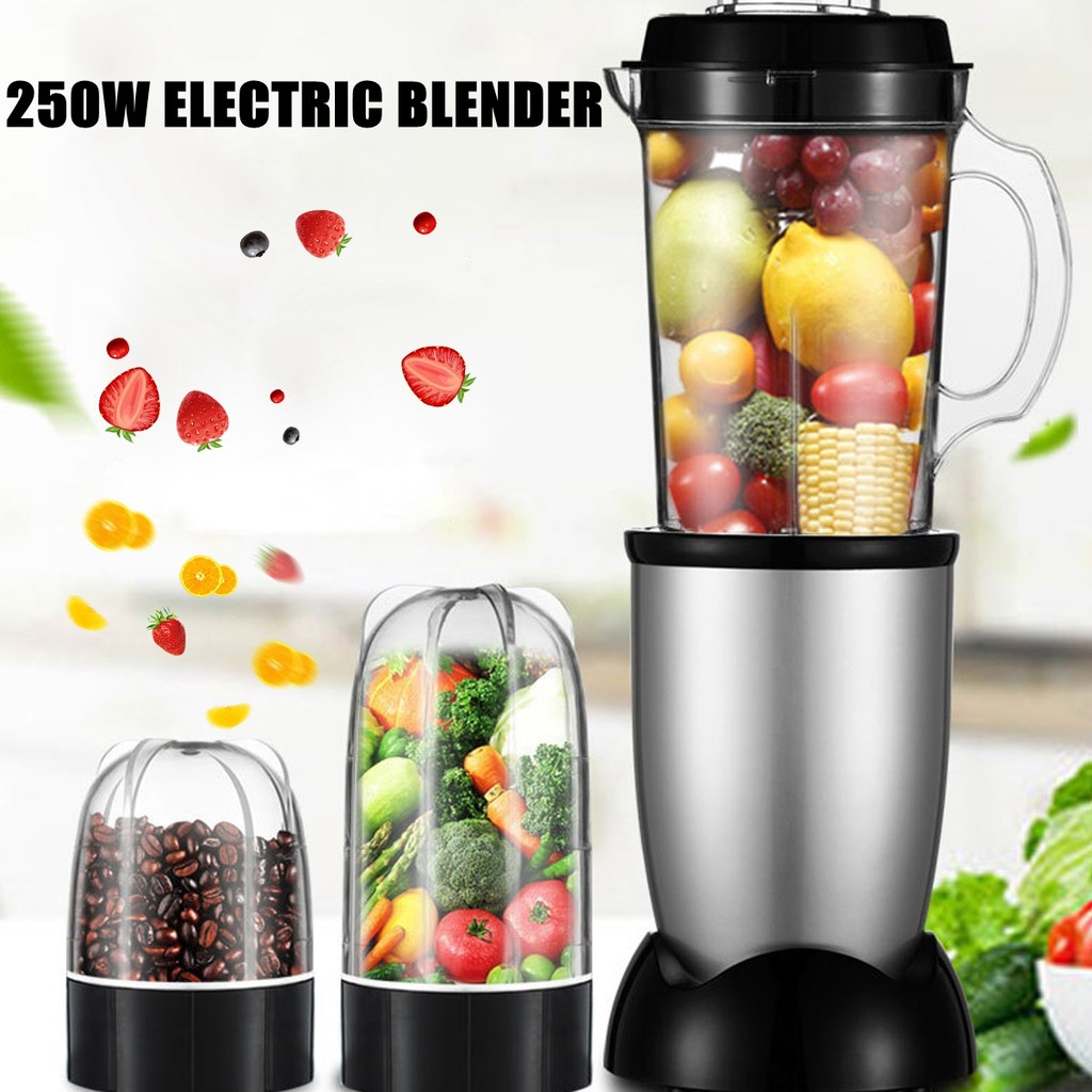 Mixer Juicer Pembuat Smoothie 250w Shopee Indonesia Oxone Personal Hand Blender Ox 853