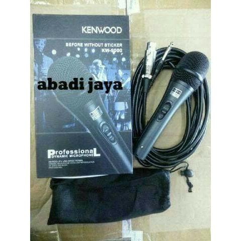 KENWOOD 9000 OEM mic mik microphone mikrofon kabel cable karaoke vokal vocal | Shopee Indonesia