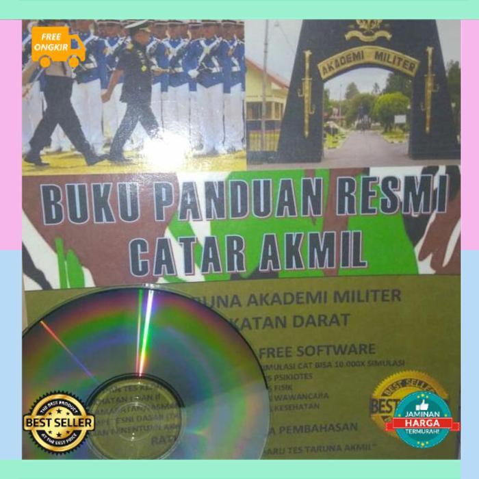 BISA COD BUKU PANDUAN RESMI CALON TARUNA AKADEMI MILITER AKMIL TNI AD 2020