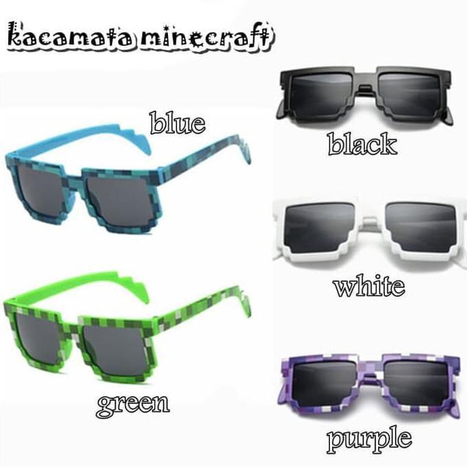 kacamata minecraft - Temukan Harga dan Penawaran Aksesoris Kepala Online  Terbaik - Fashion Bayi   Anak Januari 2019  e18e7a944e