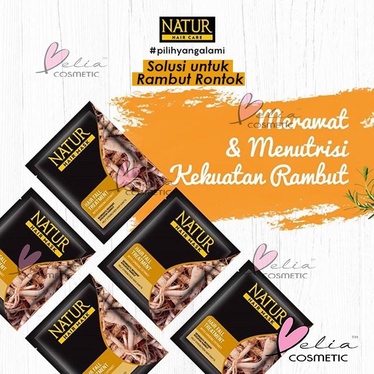 ❤ BELIA ❤ NATUR Hair Mask   Hair Vitamin   2 in 1 Shampoo & Hair Tonic(✔️BPOM)-7