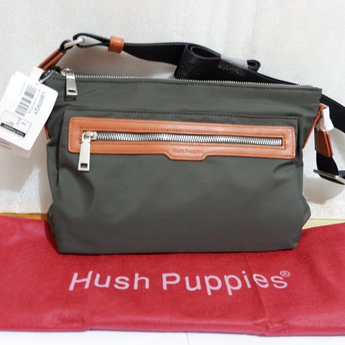ORI COUNTER!! TERMURAH!! TAS SELEMPANG SLING BAG HUSH PUPPIES ... 5b269c1e5d
