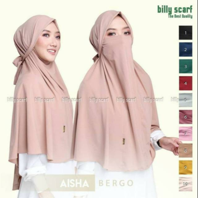 Hijab Madina Anti Corona Bergo Non Pet Jumbo Masker Instan Jersey Premium Shopee Indonesia