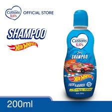 ORIGINAL Cussons Kids Shampoo 200ml & 100ml BPOM / Cussons Shampoo Anak / LEDI MART-Shampoo Biru 200ml