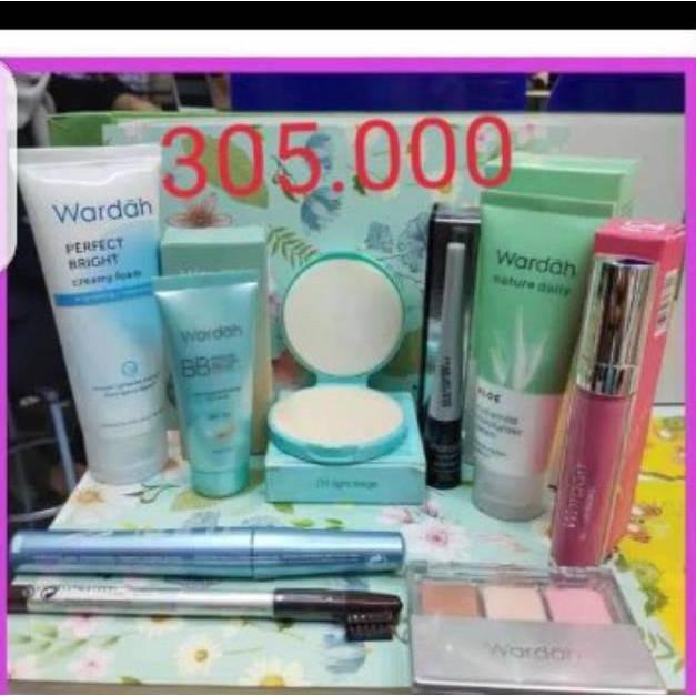 [news]Paket Wardah Komplit /Wardah Paket Skincare / Wardah Paket make Up [belakang1]