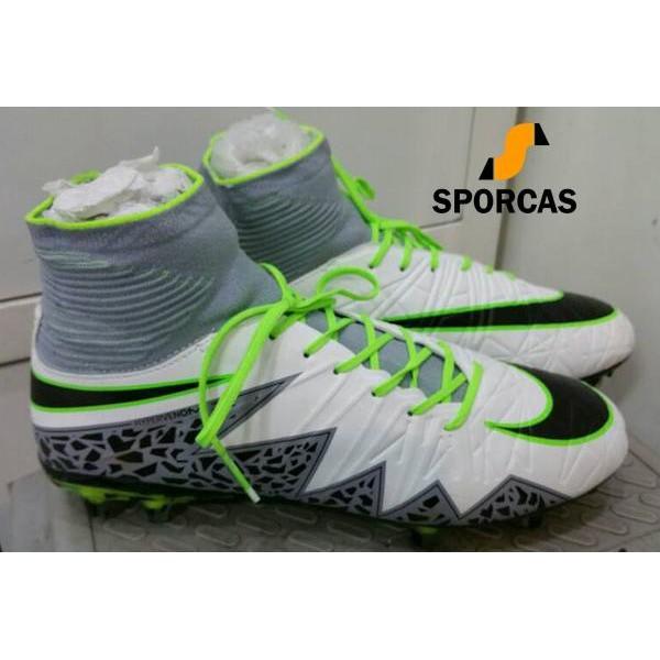 5ab1813fee9 Sepatu Sepakbola Soccer Nike Hypervenom Phantom 2 Neymar Fg White Grey by  Sporcas