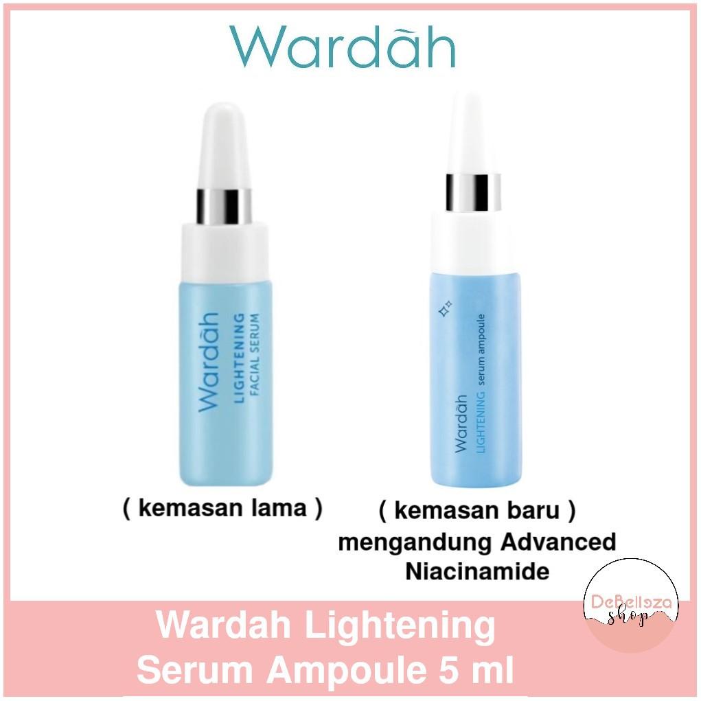 Satuan Wardah Lightening Serum Ampoule Serum Wajah 5ml Shopee Indonesia