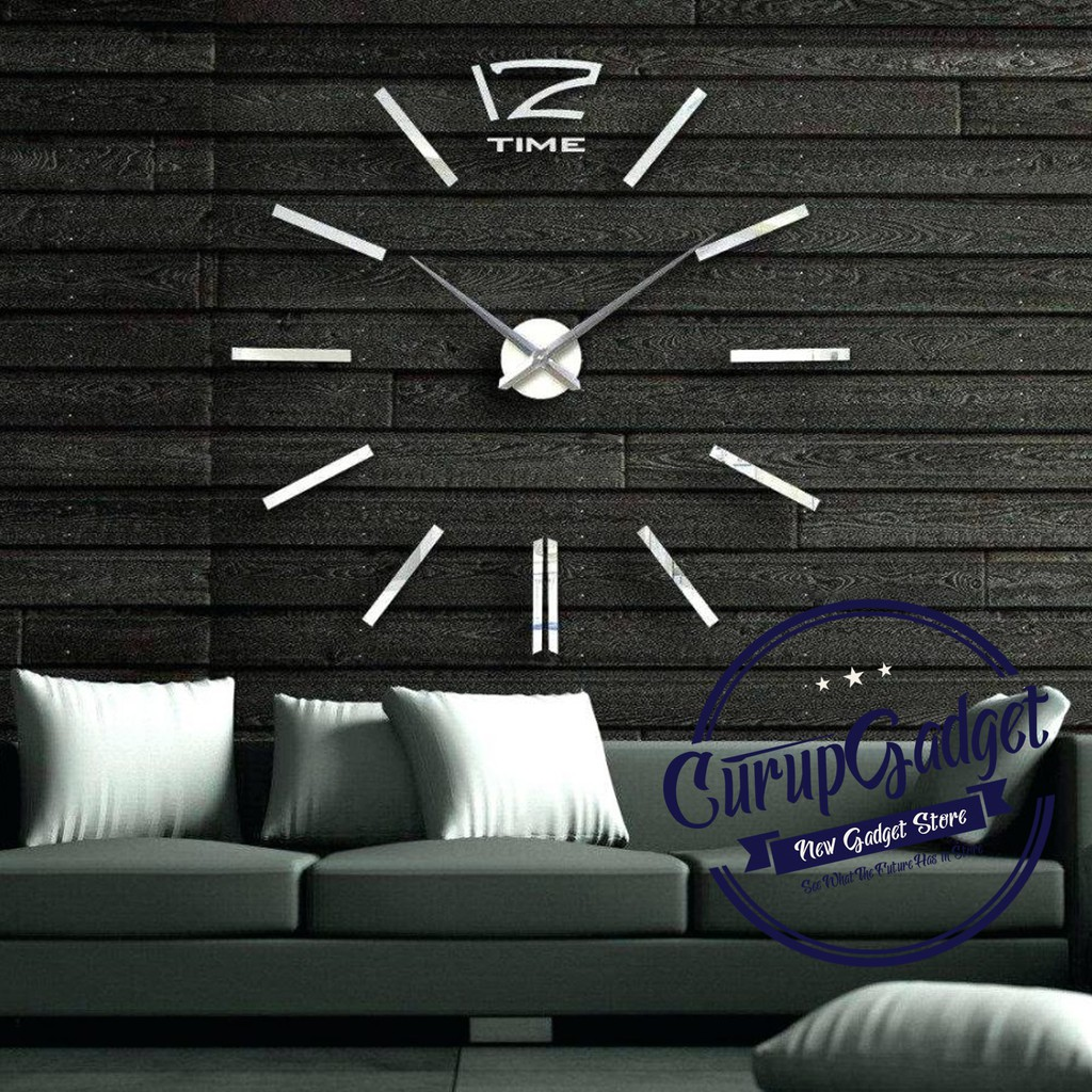 3D Giant Wall Clock   Jam Dinding Besar  box universal   c2b0eac01e